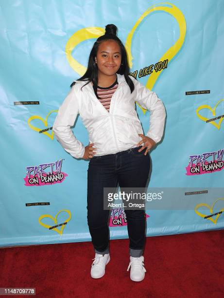 Bluani attends the Release Party For Dani Cohn And Mikey Tua's Song Somebody Like You held at The Industry Loft on June 8 2019 in Los Angeles...