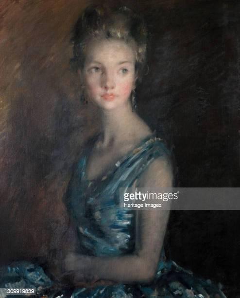 Blue And Silver, 1929. Artist David Muirhead. .