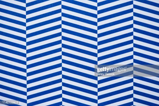 blue and white striped pattern - striped stock pictures, royalty-free photos & images