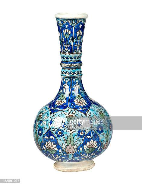 blue antique vase - vase stock pictures, royalty-free photos & images