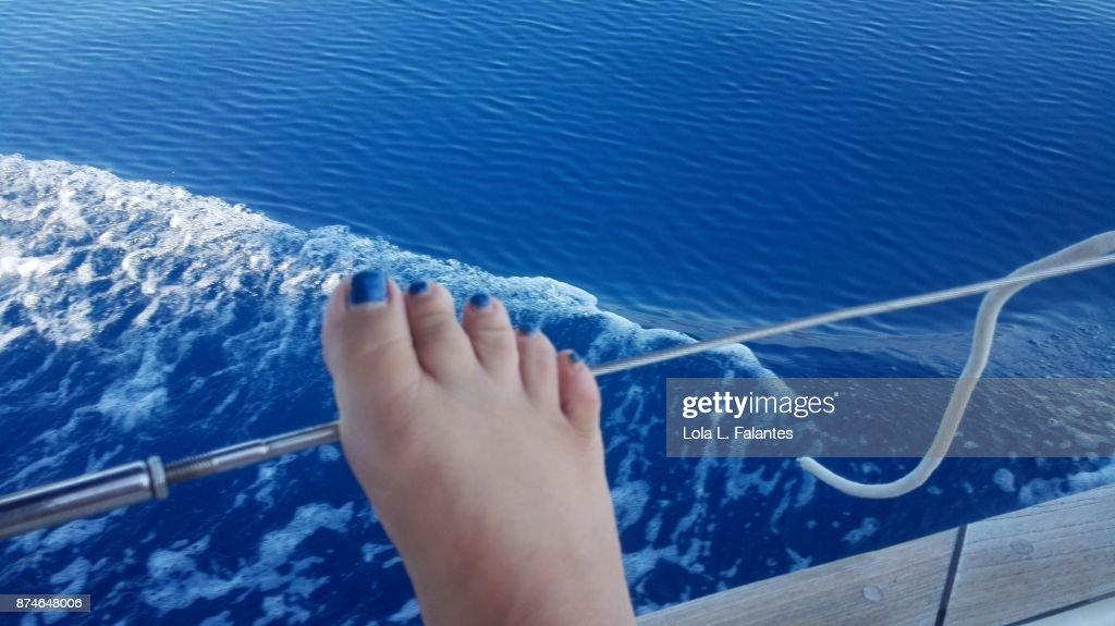 Blue as the sea : Foto de stock