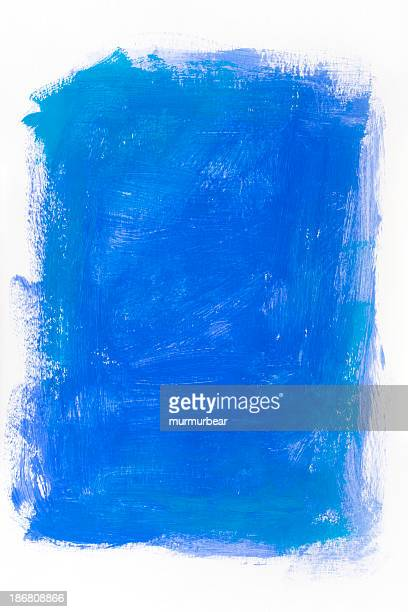 blue backdrop - brush stroke stock pictures, royalty-free photos & images