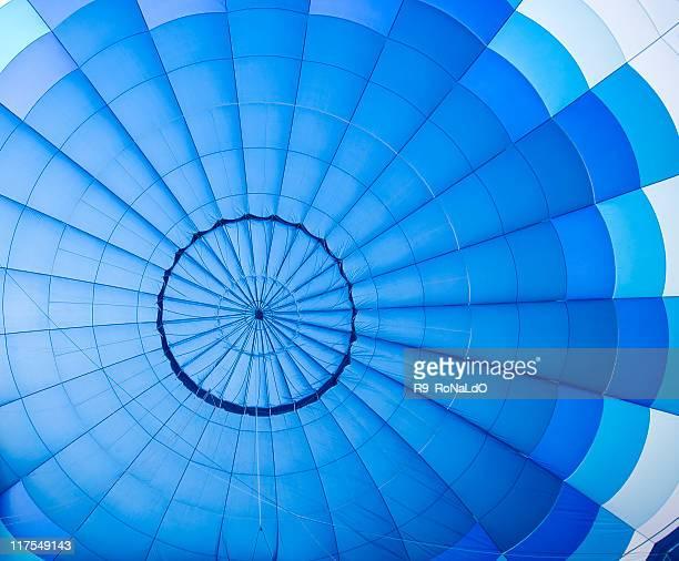 Blue balloon pattern
