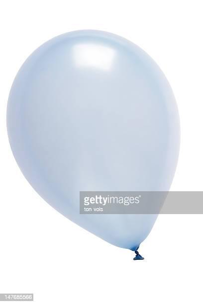 Blue Balloon mit Reflexion und weg