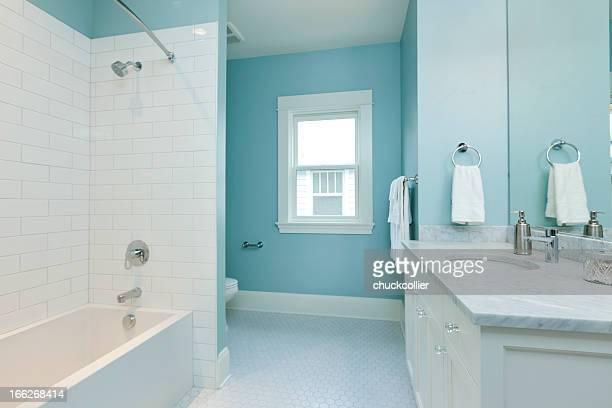 Blue Badezimmer