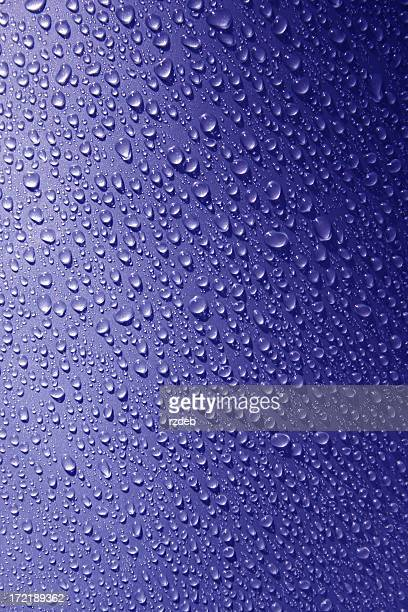 blue beads of rain - bead stock pictures, royalty-free photos & images