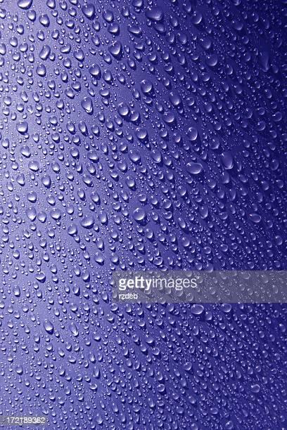 Blau Perlen Regen