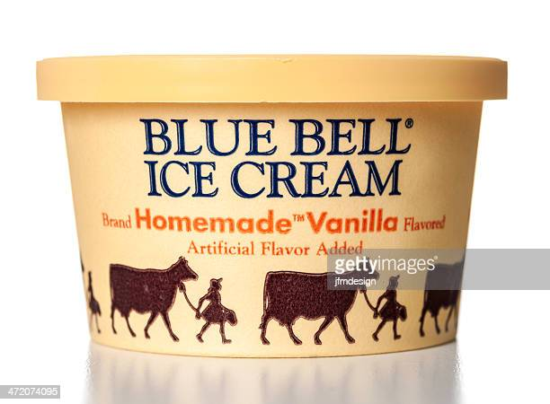 Blue Bell Homemade Vanilla Flavored Ice Cream jar