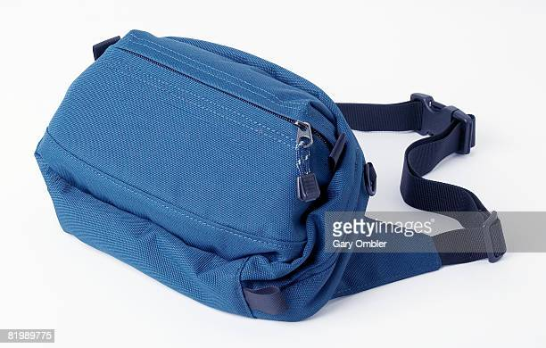Blue belt bag