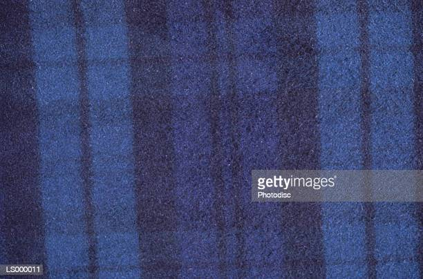 Blue Black Plaid Background