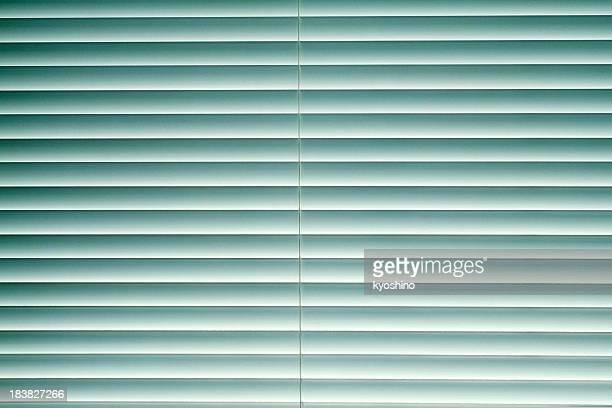 Blue blinds texture background