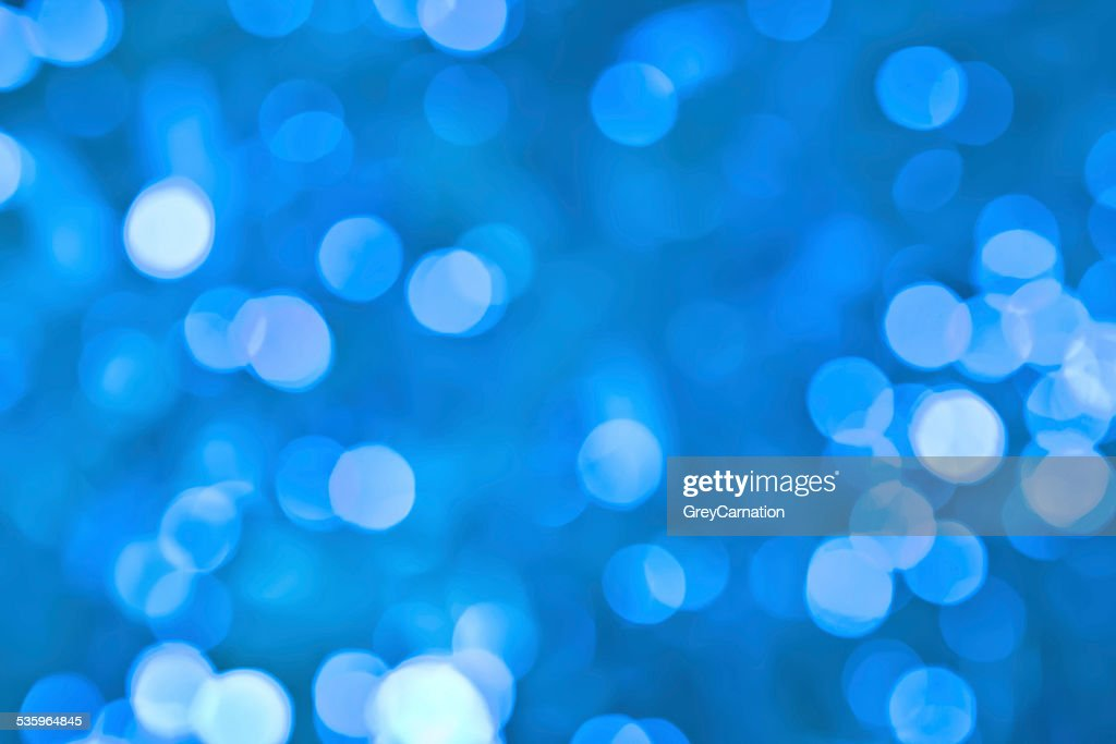 blue bokeh  background : Stock Photo