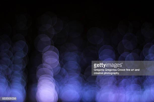 blue bokeh lights - gregoria gregoriou crowe fine art and creative photography fotografías e imágenes de stock
