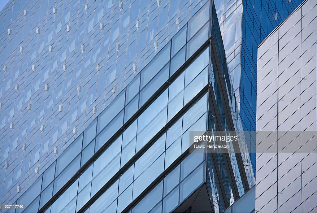 Blue buildings : Foto de stock