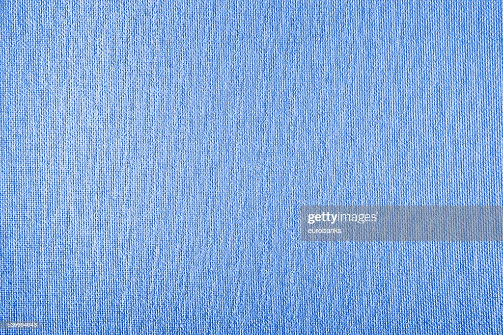Blue Canvas Background : Stock Photo