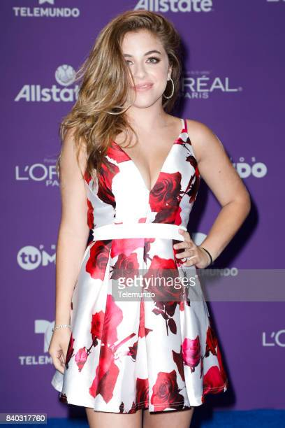 MUNDO 2017 Blue Carpet Pictured Baby Ariel arrives to the 2017 Premios Tu Mundo at the American Airlines Arena in Miami Florida on August 24 2017