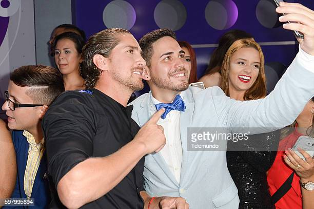 MUNDO 2016 Blue Carpet Pictured Jonathan Islas arrives at the 2016 Premios Tu Mundo at the American Airlines Arena in Miami Florida on August 25 2016