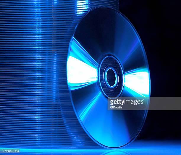 Blue CD's