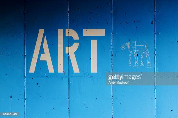 blue cement wall - greenville south carolina stock photos and pictures