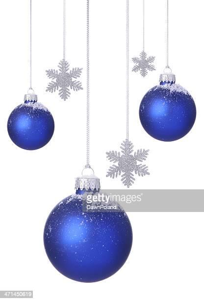 Blue Christmas Balls!