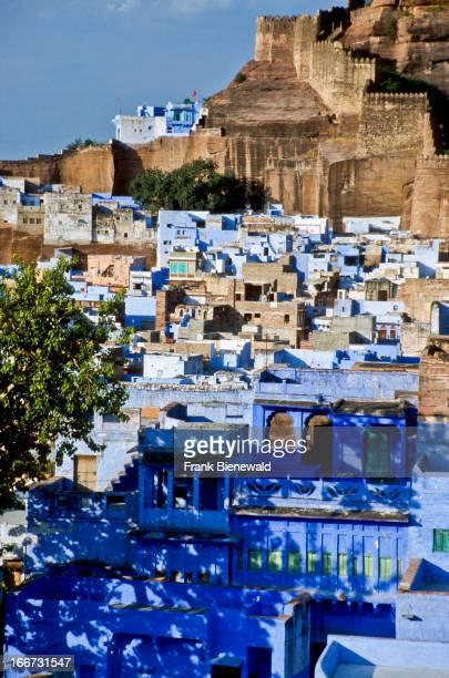 Blue City Jodhpur with MeherangarhFort