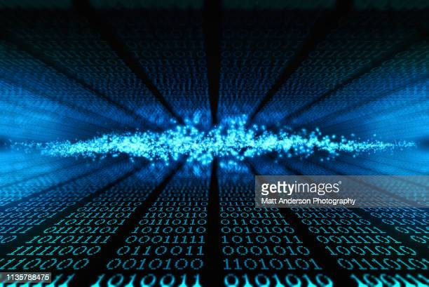blue cloud 101010 data lines to infinity - politics abstract stock pictures, royalty-free photos & images