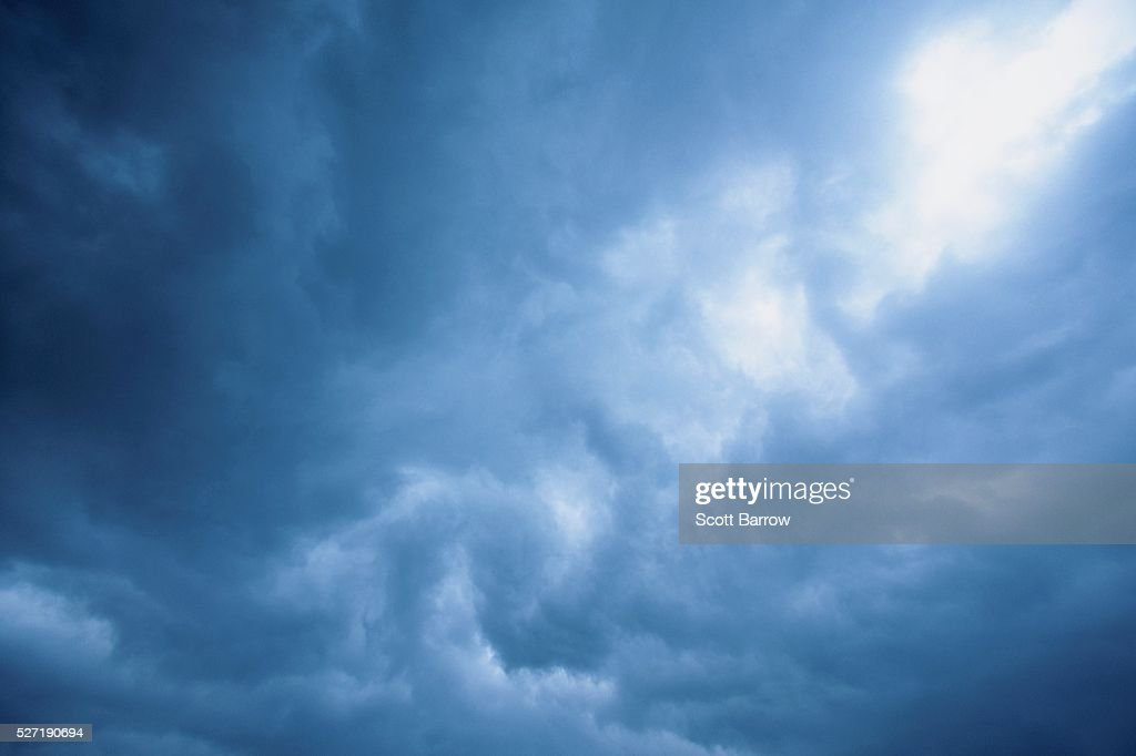 Blue clouds : Foto de stock