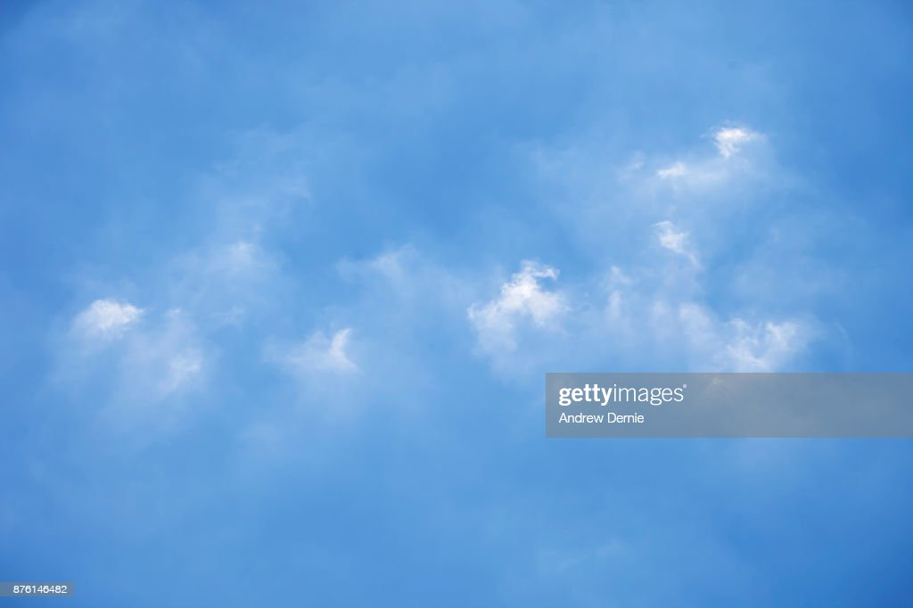 Blue Cloudscape : Stock Photo