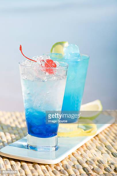 World S Best Blue Lagoon Cocktail Stock Pictures Photos