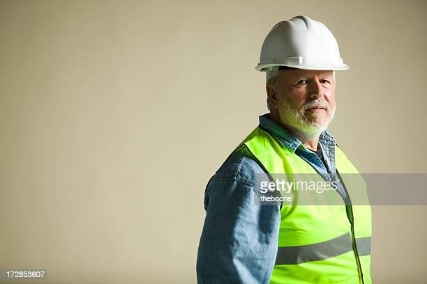 blue collar worker portraits