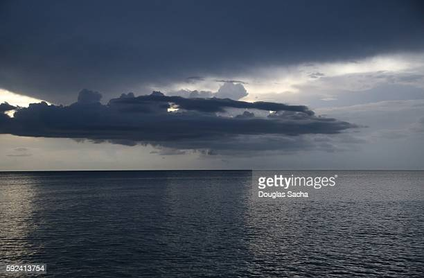 Blue coloered oceaean sky, Don Pedro Island State Park, Placida, Florida, United States