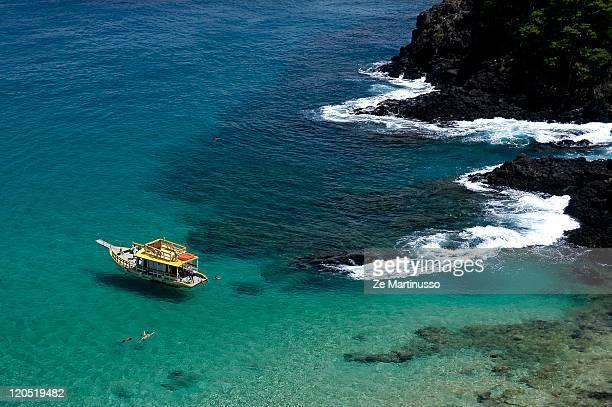 Blue color sea