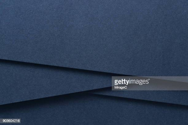 Blue Colored Paper Crossing