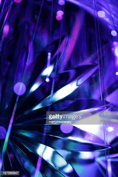 XXL blue crystal reflections