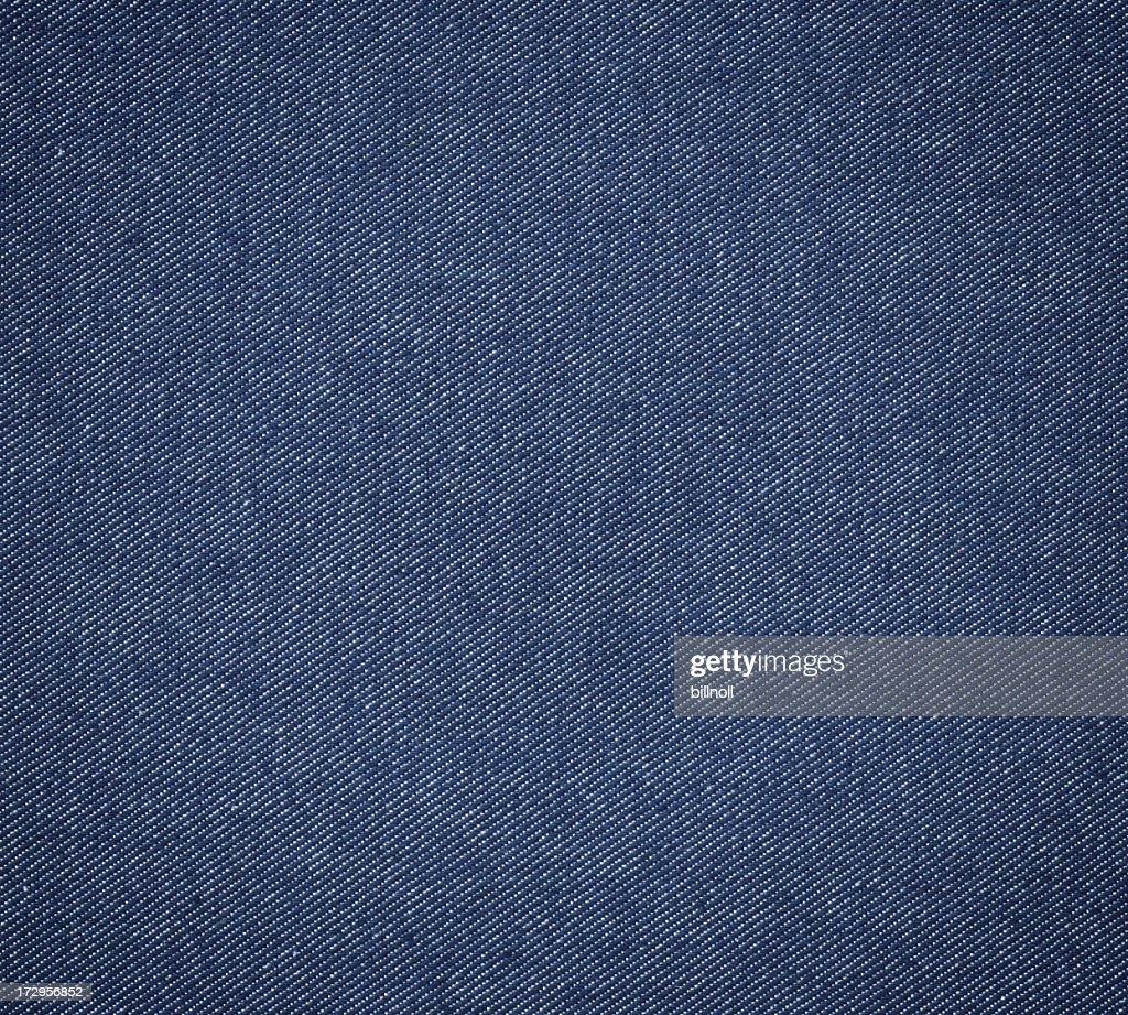 blue denim fabric : Stock Photo