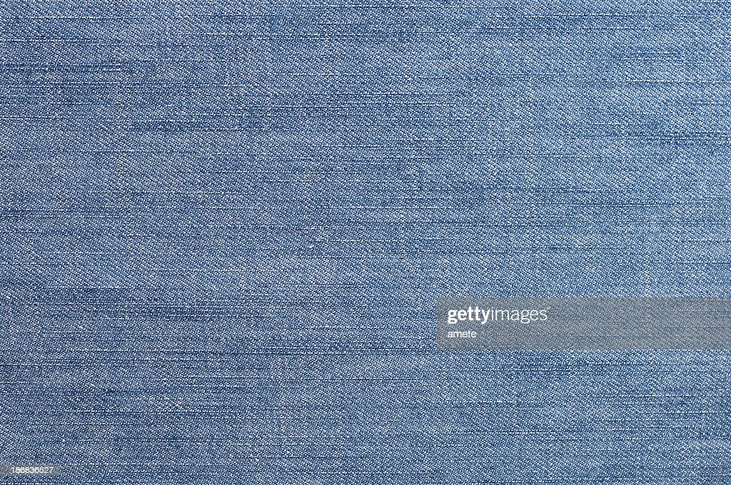 Blue Denim Fabric : Stock Photo