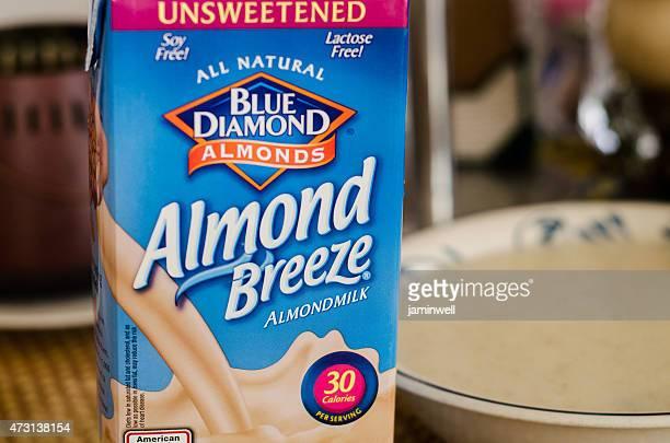 Blue Diamond Almond Breeze milk substitute