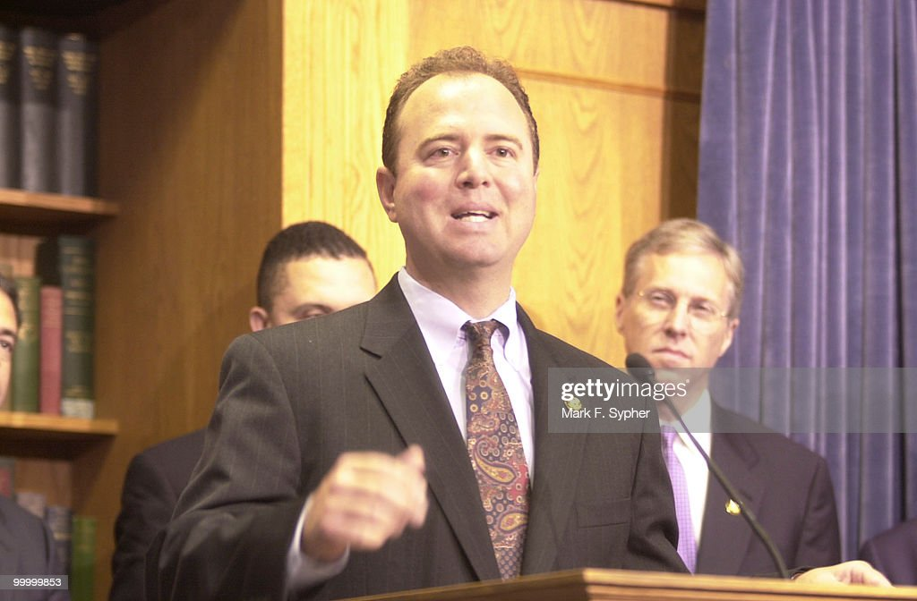 Blue Dog Coalition freshman Rep. Adam Schiff, D-Calif., spoke at a press conference on Thursday to endorse his support of the Shays-Meehan bill.