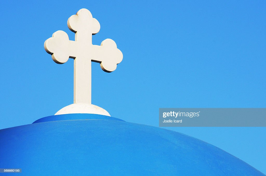 Blue dome : Stock Photo