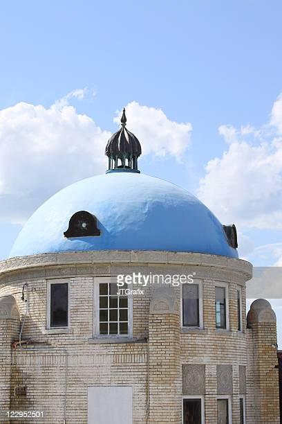 blue dome, tulsa, ok - tulsa stock pictures, royalty-free photos & images