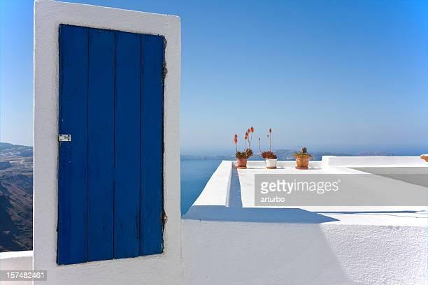 blue door to nowhere