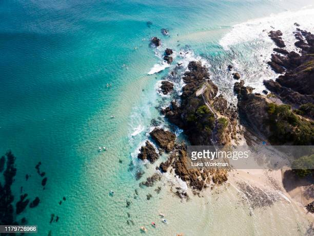 blue drone photos - gold coast queensland stock pictures, royalty-free photos & images