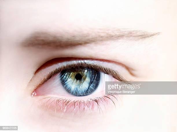 blue eye - hypnose photos et images de collection