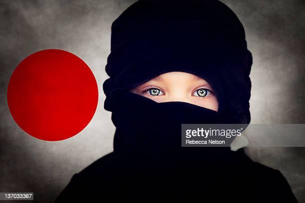 Blue eyed ninja