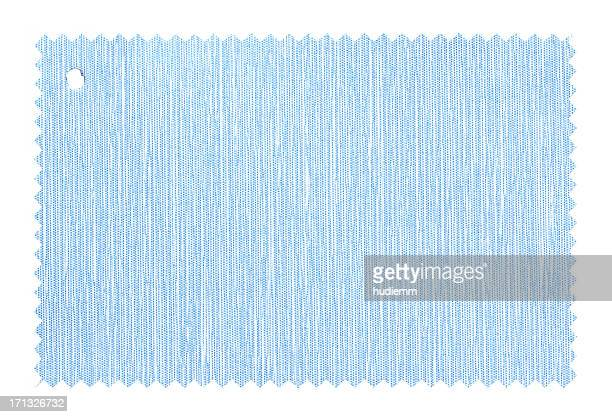 Blue Fabric Swatch background textured