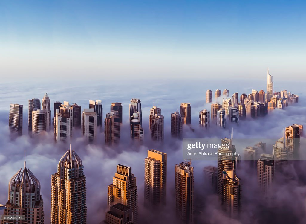 Dubai takes number 3 with staggering 19 buildings taller than 300 meters, that more than any other city in the world, but 'only' 173 are 150 meters or taller.