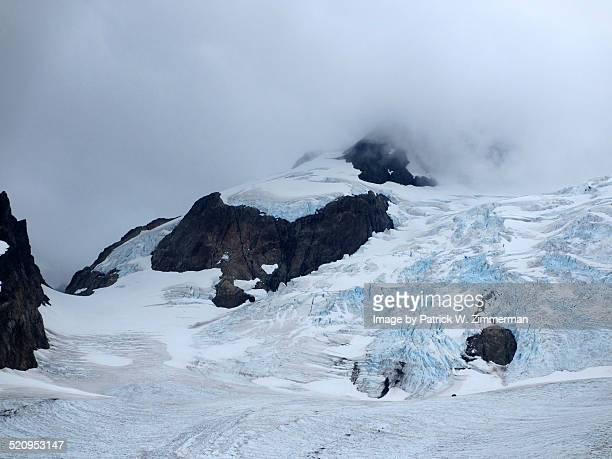 Blue Glacier Closeup