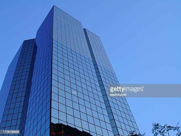 Blue glass Buildings