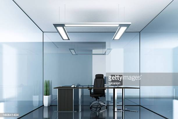 Blue Glass Office