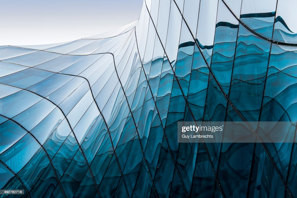 blue glass : Stock Photo